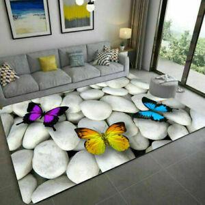 3D Print Area Rugs Carpet Anti-Skid Floor Mat Doormat Home Bedroom Living Room