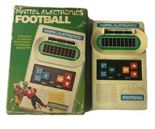 Vintage Mattel Electronics Football Handheld Game with Box 1977 WORKING