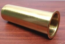 "MARINE BOAT POLISHED BRASS DRAIN TUBE 1"" BY 3"" TRANSOM MOTORWELL LIVEWELL USE"