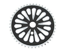 Bicycle Steel Sprocket 337-1 1/2 X 1/8 44t Chrome Black Chopper Cruiser 137839