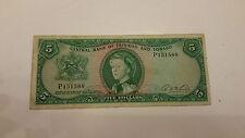 5 DOLLAR -TRINIDAD AND TOBAGO 1964