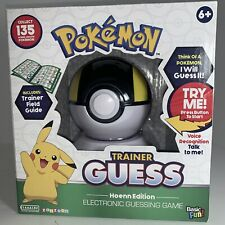 Pokemon Trainer Guess: Hoenn Edition Electronic Guessing Game RARE