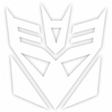 "Transformers Decepticons Decepticon Logo 6"" Decal Sticker Car Window Laptop"