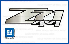 set of 2 - Z71 4x4 GMC Sierra 07-13 Decals Stickers White Mushroom Fade GRMSHRM