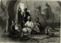 Morocco North African Snake Charmers 1859 Illustrated London News
