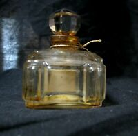 Vintage Bellodgia Perfume Bottle  Baccarat Style ½ FL oz Empty