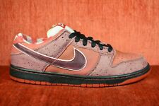 CLEAN Nike Dunk SB Low Red Lobster 2008 Size 10.5 313170-661 Yellow Green Purple