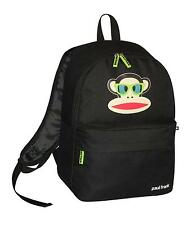 PAUL FRANK - JULIUS MONKEY GLASSES SCHOOL BACKPACK - BLACK
