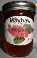 Fresh MAYHAW PEPPER JELLY 1/2 Pint (8 oz.) Organic, No Chemicals, FREE SHIPPING