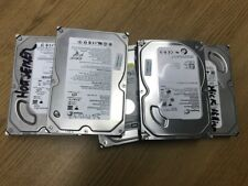 """Job lot 5 x 160GB 3.5"""" SATA Hard Drives for PC mixed models Wiped and SMART test"""
