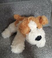 Tesco Cream Dog Soft Toy Plush Cuddly Cream Teddy Floppy Puppy 2004 ginger