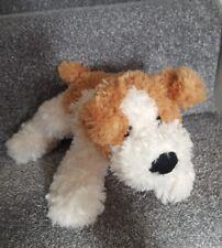 Tesco Cream Dog Soft Toy Plush Cuddly Cream Teddy Floppy Puppy 2004 ginger