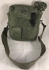 CANTEEN 2 QT QUART & 2QT OD COVER CARRIER & STRAP US Military Army Very Good Con