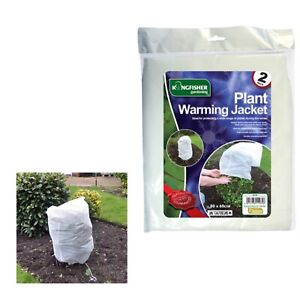 2 x Frost Plant Protection Winter Fleece Warming Jacket Cover  Shrub Garden