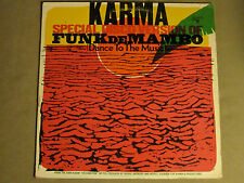"KARMA FUNK DE MAMBO (SPECIAL DISCO VERSION) 12"" ORIG '76 RARE PROMO AFRO BREAKS"
