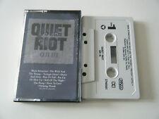 QUIET RIOT / QR III / CASSETTE TAPE / QRIII / 3 / CBS (1986)