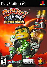 Ratchet And Clank Up Your Arsenal PS2 PlayStation 2! COMPLETE W/MEMORY CARD! A7