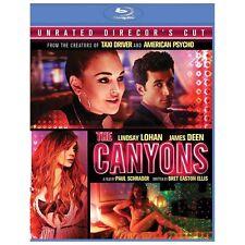 The Canyons (Blu-ray Disc, 2013, Director's Cut) Lindsay Lohan, James Deen