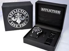 Affliction - GENTS CHRONOGRAPH - Men's Watch - NEW - AF3612 -  Steel / Black