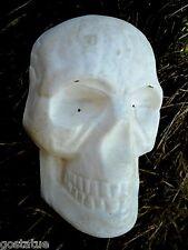 "skull plastic mold plaster mold cement mould 7"" x 4"" x 2"" Hallowen concrete mold"