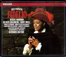 Beethoven: Fidelio Jessye Norman andreas schmidt puro Goldberg Haitink 2cd