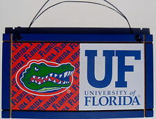 Florida University Gators College Licensed Wood Plaque Sign Sport Fan Team NCAA