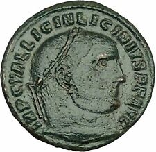 Licinius I Constantine The Great enemy 313AD Ancient Roman Coin Jupiter  i39967