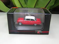 High Speed 1/87 Diecast Model  Car Chevy Bel Air 1955 (Red)