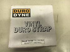 Duro Dyne Vinyl Duro Strap Nib #10190 1.5 X 200' See Pics #B77
