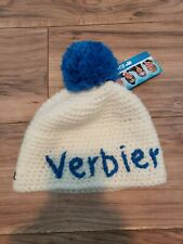 Eisbär EXTREMELY RARE Winter Ski Cap Knit Beanie Austria  VERBIER NWT Authentic