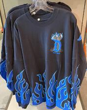 2020 Disney Parks Disneyland Hades Blue Black Halloween Spirit Jersey S