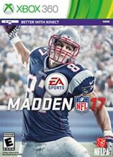 Madden NFL 17 (Microsoft Xbox 360, 2016) - COMPLETE