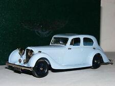 Lansdowne Models LDM106 1936 Bentley 4.5 Litre Saloon Barker Blue 1/43