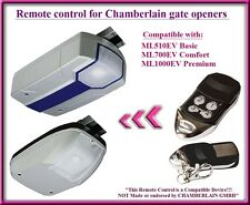 Control Remoto Compatible para comodidad Chamberlain ML510EV Basic, ML700EV abridores
