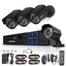 Camara De Seguridad Para Casas Profesionales 4CH Night Vision/Motion Detection