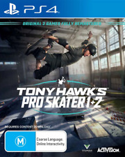 Tony Hawks Pro Skater 1 + 2 PS4 Game NEW