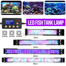 22/32/50/70CM RGB LED Aquarium Fish Tank Light Digital Display+24 Key Remote