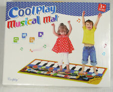New listing Coolplay Piano Play Music Mat Touch Keyboard 10 Key 8 Musical Instruments