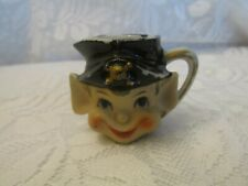 Vintage Miniature Made in Japan Elf Head Pitcher Cup