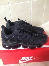 Brand New Boxed Nike Air Vapormax Plus Triple Black Trainers Size UK 8.5 Lot