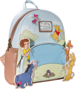 Disney Winnie The Pooh 95th Anniversary Celebration Toss Mini Backpack by Lounge