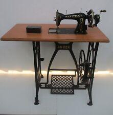Anker Sewing machine 1920's Art Nouveau treadle model