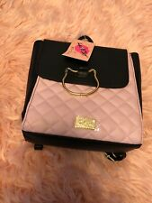 Betsey Johnson Cat Backpack Pink New With Tag 🏷