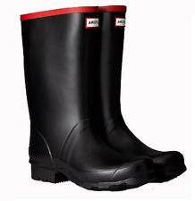 NEW Mens Hunter Argyll Short Wellington Boots Extra Wide Calf Fitting Wellies