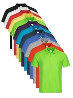 Mens Mans Plain Cotton Pique Polo Golf Sports Shirt No Logo Tshirt with Collar