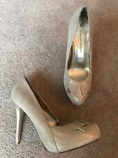 Dorothy Perkins Gold Court Shoes  High Heel Uk Size 6