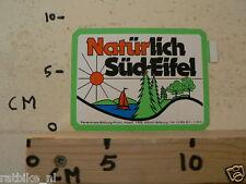 STICKER,DECAL NATURLICH SUD-EIFEL BITBURG B