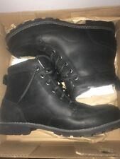 Nib Columbia Mens Chinook Boot Wp Black Marquam Waterproof Lace Up shoes - sz 12