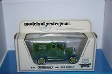 FORD MODEL T 25 ANS anniversaire  matchbox yesteryear Y12 old cars