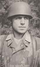 WWII B&W Photo German Fallschirmjager (Paratrooper) Portrait WW2 Luftwaffe/ 2307